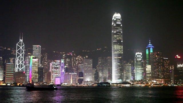 홍콩섬 야경4