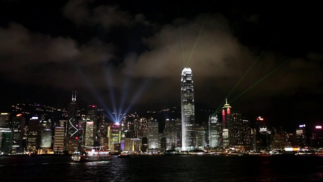홍콩섬 야경7
