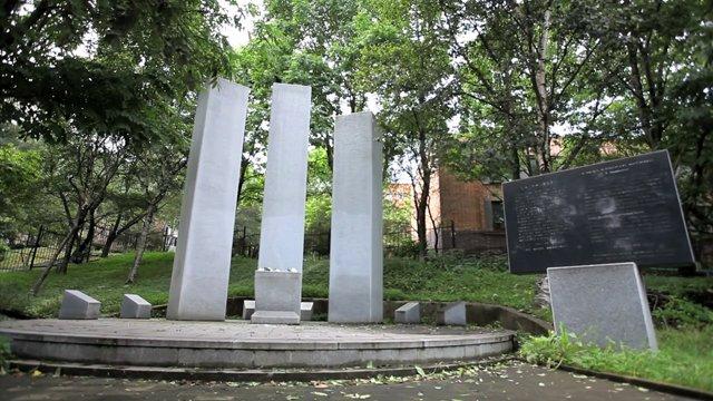러시아 블라디보스톡 신한촌 기념비