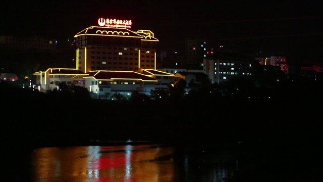 장가계 국제호텔 야경