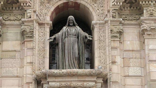 리마 대성당 동상