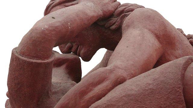 미라플로레스 아모르 공원의 석상