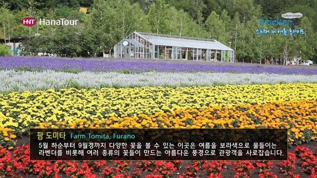 [일본] 삿포로의 꽃정원, 후라노&비에이