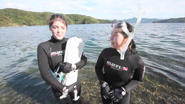 [일본] 나가토 오미지마섬의 스쿠버다이빙 체험