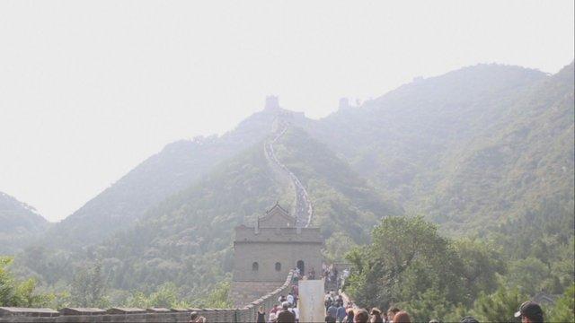 [중국] 베이징 만리장성의 거용관