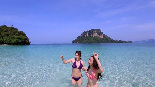 [태국] 크라비 4개의 섬투어, 포섬투어
