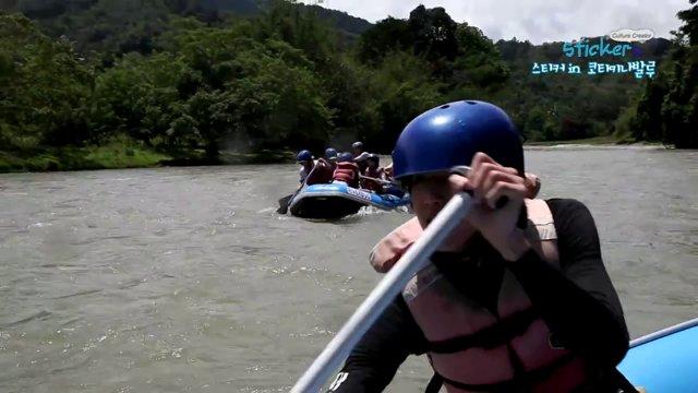 [말레이시아] 코타키나발루 키울루 래프팅