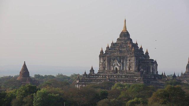미얀마 바간 쉐산도 파고다3