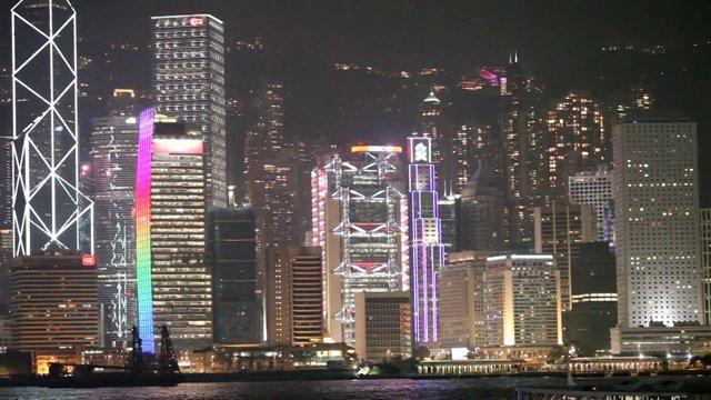 홍콩 도시 야경3