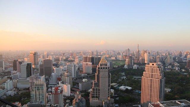 태국 방콕 시내 전망