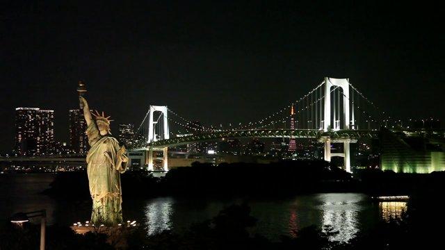 도쿄 오다이바 야경