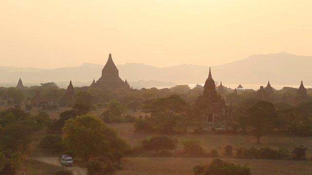 미얀마 바간 쉐산도 파고다