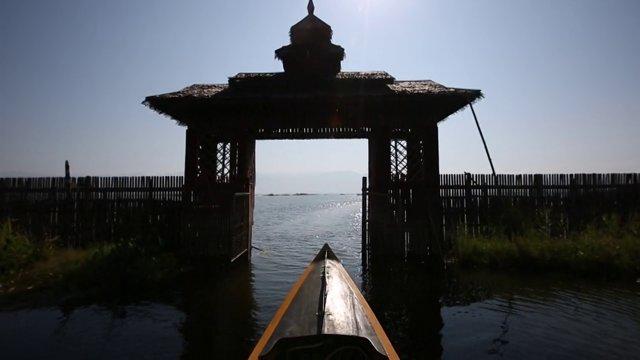 미얀마 헤호의 수상마을2