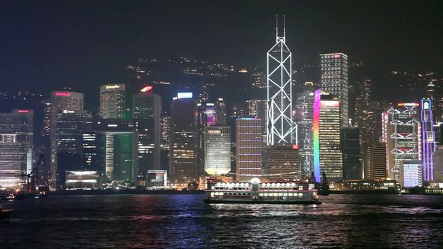 홍콩 도시 야경2