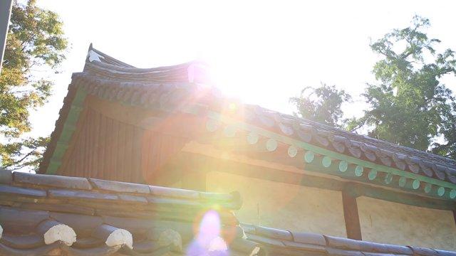 전주 한옥마을 햇살