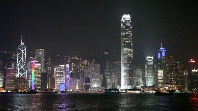 홍콩 도시 야경