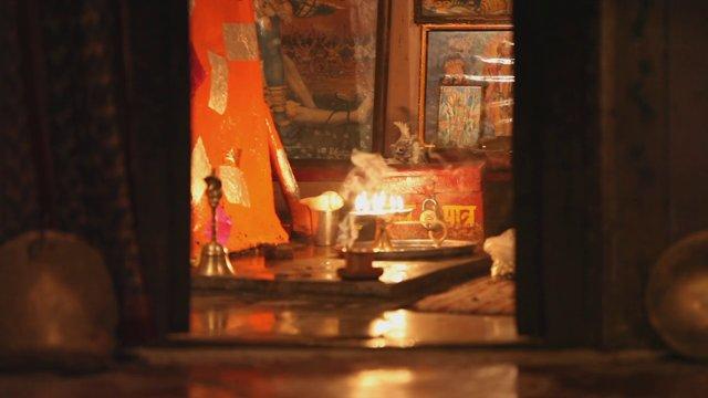 인도사원의 향