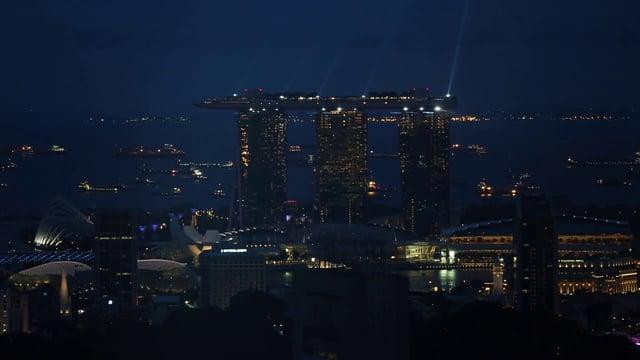 싱가포르 야경