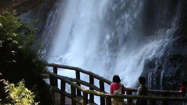 타이중 삼림계 폭포02