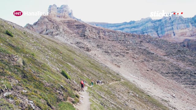 [트레킹] 캐나다 로키산맥 트레킹 / Rocky Mountains Trekking / 하나투어 스티커